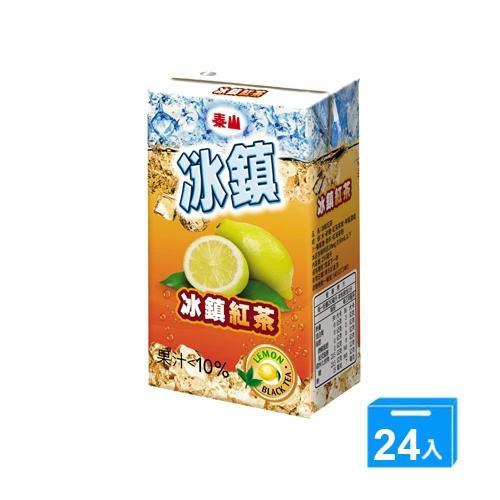 泰山冰鎮紅茶 250mlx24【愛買】