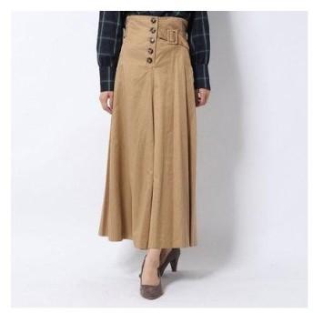 archives サイドベルトマキシスカート BEIGE