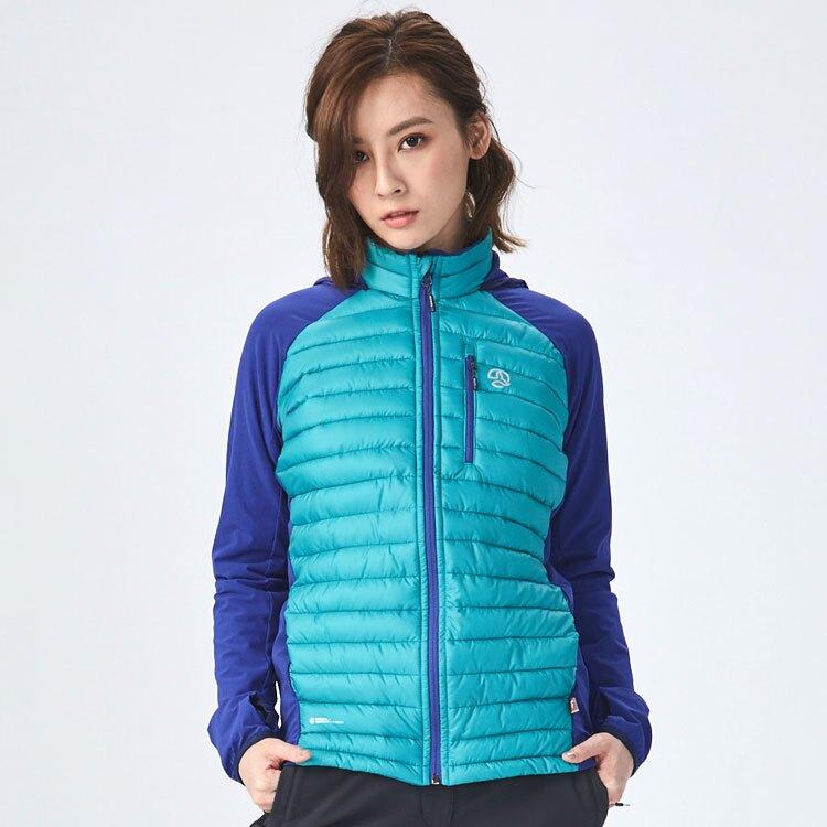 TERNUA 女Primaloft異材質保暖外套1642970 / 城市綠洲 (登山、戶外活動、輕便、高機能性)
