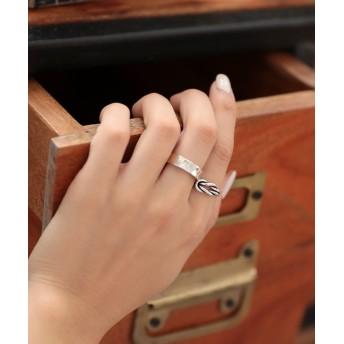 リング・指輪 - DONOBAN リング シルバー925 シンプルシルバーリング レディース silver925 指輪 アクセサリー ジュエリー PyuPyuSELECT