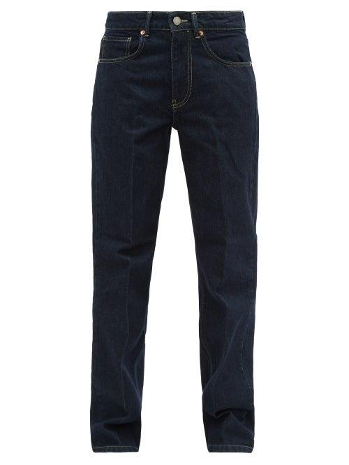 Raey - Push Straight-leg Jeans - Womens - Indigo