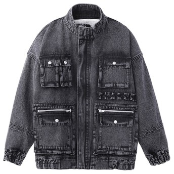 【エックスガール/X-girl】 BOA DENIM JACKET