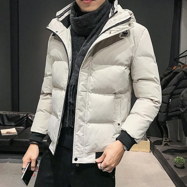 FOFU-鋪棉外套帥氣韓版修身潮流連帽鋪棉外套【08B-F0672】