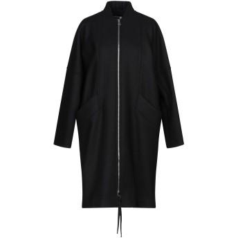 《セール開催中》SPORTMAX CODE レディース コート ブラック 36 バージンウール 75% / ナイロン 25%