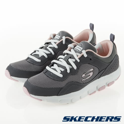 SKECHERS LIV FEARLESS 2 女鞋 慢跑 健走 輕量 透氣 灰粉【運動世界】88888193CCPK