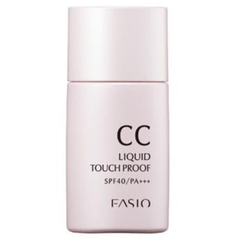 【アットコスメショッピング/@cosme SHOPPING】 ファシオ CC リキッド タッチプルーフ 明るい肌色・01 (30mL)