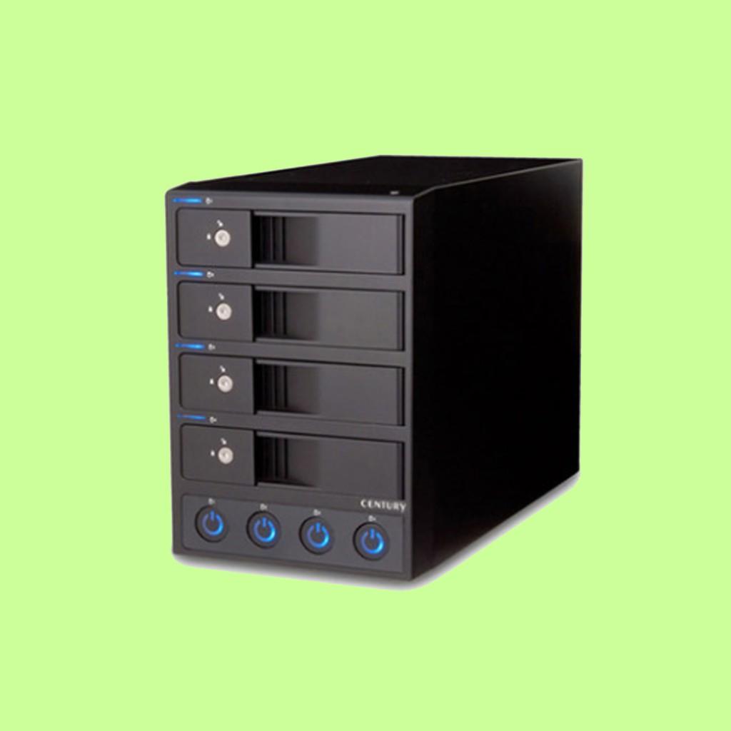 5Cgo【含稅】高清存儲多4盤位外置硬碟盒3.5英寸SATA硬碟櫃USB3.0獨立電源機械硬碟16687801042