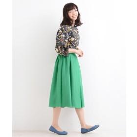 【ニーム/NIMES】 ボイル×サテン リバーシブルスカート