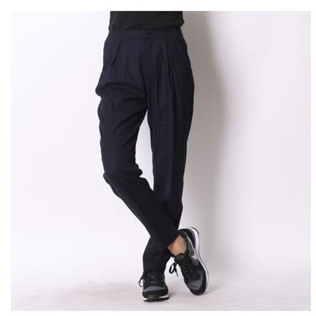 アトモス atmos LAB TAPERED TROUSERS (NAVY)