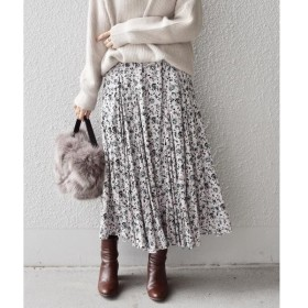 SHIPS for women / シップスウィメン オリエンタルフラワープリントスカート