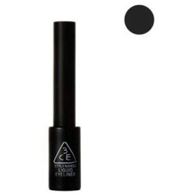 訳あり 箱くずれ 3CE リキッド アイライナー #BLACK (ブラック) 6.5g [Liquid Eye Liner] [スリー