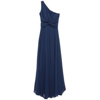 《セール開催中》LIU JO レディース ロングワンピース&ドレス ブルー 42 ポリエステル 100%