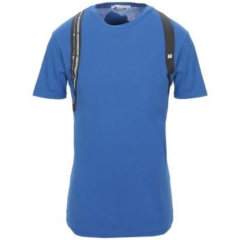《セール開催中》DANIELE ALESSANDRINI メンズ T シャツ ブルー S コットン 100%