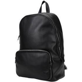 《セール開催中》CALVIN KLEIN メンズ バックパック&ヒップバッグ ブラック ポリウレタン 100% PUNCHED ROUND BACKPACK