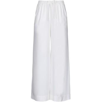 《セール開催中》P.A.R.O.S.H. レディース パンツ ホワイト XS シルク 100%