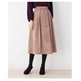 SOUP(スープ)【大きいサイズあり・13号・15号】カラーサテンAラインスカート