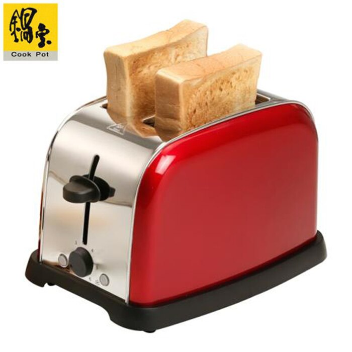 【CookPot 鍋寶】不鏽鋼烤麵包機 OV-860-D