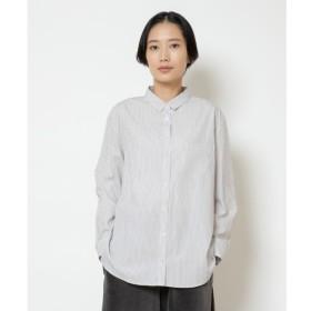 【ニーム/NIMES】 stripe/checkチビ衿シャツ