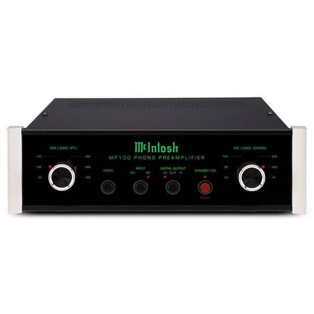 McIntosh - MP100(MC/MMフォノイコライザー)【メーカー取寄商品・納期を確認後、ご連絡いたします】