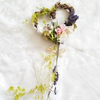 yukino2811さま ご購入ページ /他の方はご購入はお控えくださいませ/Flower heart リース
