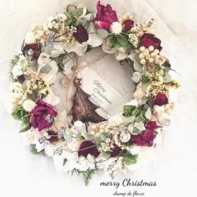 《Christmas》フラワーリース