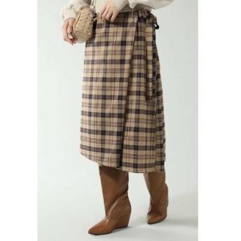 ROSE BUD / ローズ バッド サイドリボンスカート