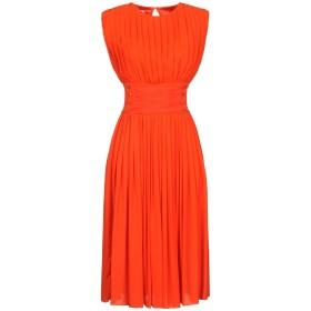 《セール開催中》PASSEPARTOUT DRESS by ELISABETTA FRANCHI CELYN b. レディース 7分丈ワンピース・ドレス オレンジ 42 レーヨン 100%