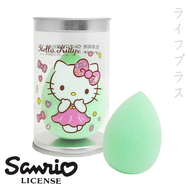 美妝蛋-水滴型-綠色