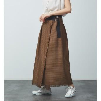 【ルージュ・ヴィフ ラクレ/Rouge vif la cle】 チェックボリュームスカート