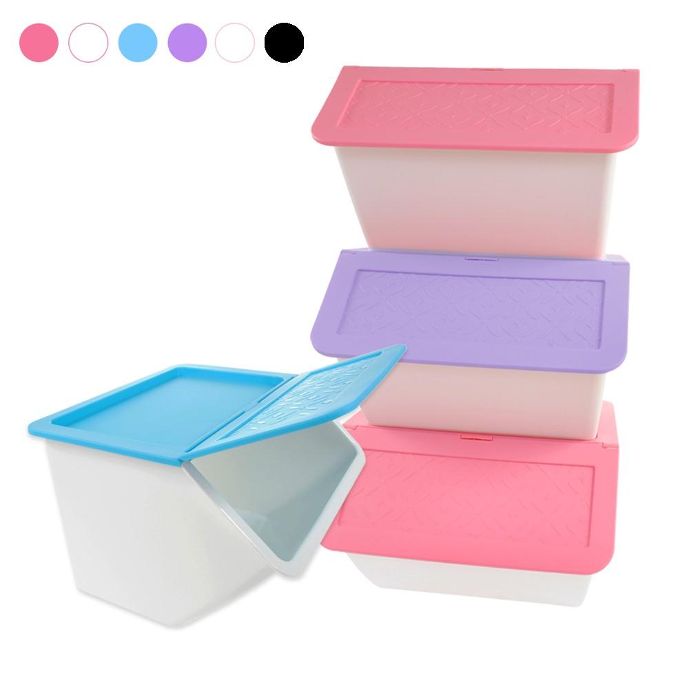 大嘴鳥33L收納箱 六入組(同色)正版授權 衣物整理收納箱 整理箱 換季收納 收納盒 置物箱 衣物收納箱5ip8