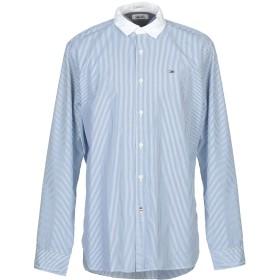 《セール開催中》TOMMY JEANS メンズ シャツ アジュールブルー S コットン 100%