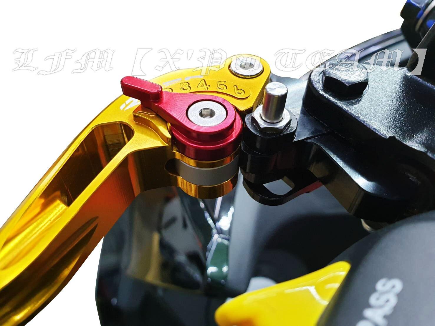 【LFM】RIDEA DRG158 DRG 可調式煞車拉桿 附手剎車 可折式 可延長 競速版 短拉桿 勁速 送鍍鈦拉桿螺絲