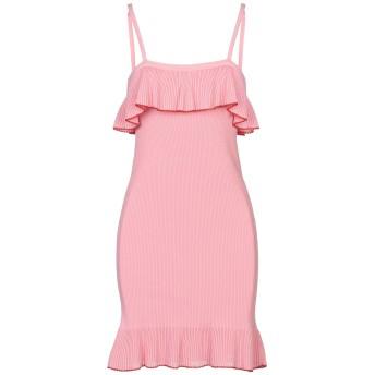 《セール開催中》BOUTIQUE MOSCHINO レディース ミニワンピース&ドレス ピンク 42 コットン 100%