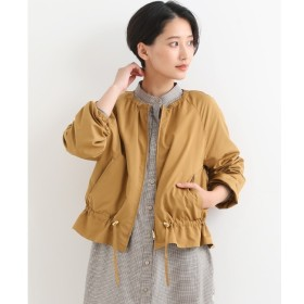 【ニーム/NIMES】 ピーチ/グログランリバーシブルブルゾン