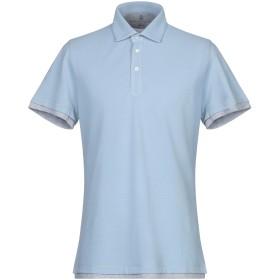 《セール開催中》BRUNELLO CUCINELLI メンズ ポロシャツ スカイブルー XS 100% コットン