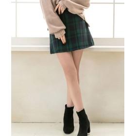 【26%OFF】 夢展望 選べる丈台形スカート レディース グリーン L 【YUMETENBOU】 【タイムセール開催中】