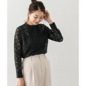 【アーバンリサーチ/URBAN RESEARCH】 ROSSO レースドレスシャツ