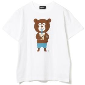 【ビームス メン/BEAMS MEN】 The Wonderful! design works / タピオカ Bear Tee