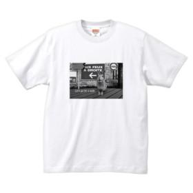 【受注生産】うさぎモノクロTシャツA