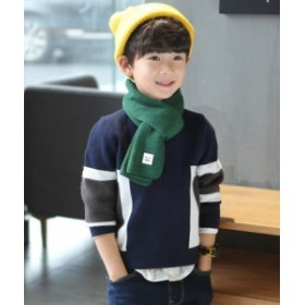 韓国子供服 セーター 男の子 新作 プリント柄 ファッション 着まわし 韓国風 かっこいい ジェントル インナー オフネック 結婚式 二次会