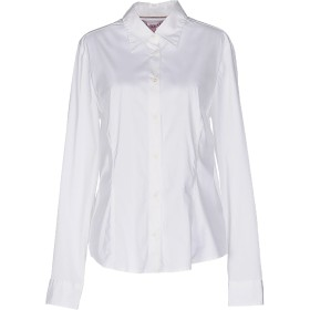 《セール開催中》JECKERSON レディース シャツ ホワイト XXL コットン 75% / ナイロン 22% / ポリウレタン 3%