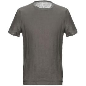 《セール開催中》ALPHA STUDIO メンズ T シャツ 鉛色 46 麻 100%