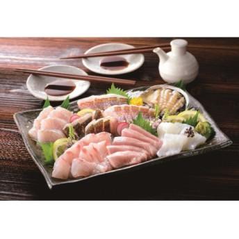 C034 旬の天然魚お刺身盛りセット(7種)
