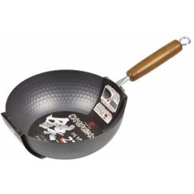 パール金属 軽くてサビにくい鉄のいため鍋 22cm HB-4678
