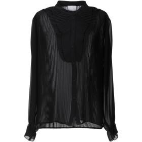 《セール開催中》D'ELLE レディース シャツ ブラック S ポリエステル 100%