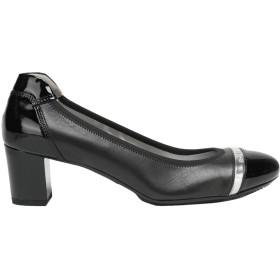 《セール開催中》HOGAN レディース パンプス ブラック 34.5 革 / 紡績繊維