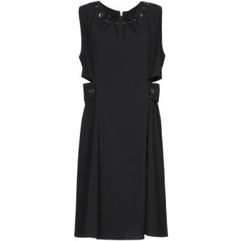《セール開催中》LIU JO レディース ミニワンピース&ドレス ブラック 46 ポリエステル 100%