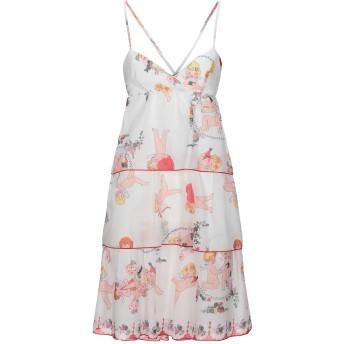 《セール開催中》ROSE' A POIS レディース ミニワンピース&ドレス ホワイト 38 コットン 100%