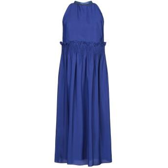 《セール開催中》RAME レディース 7分丈ワンピース・ドレス ブルー 1 アセテート 87% / シルク 13%