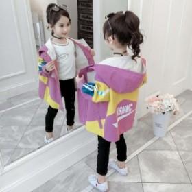 2019新型子供服は韓国版の女の子用コートと洋風子供用コートの女の子用カジュアルジャケットです